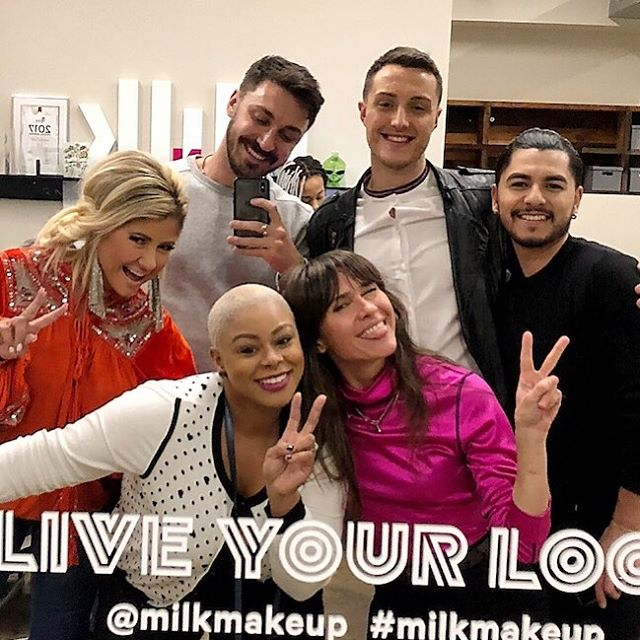 Excited to welcome these guys to the @milkmakeup family 🙌🏼 #liveyourlook