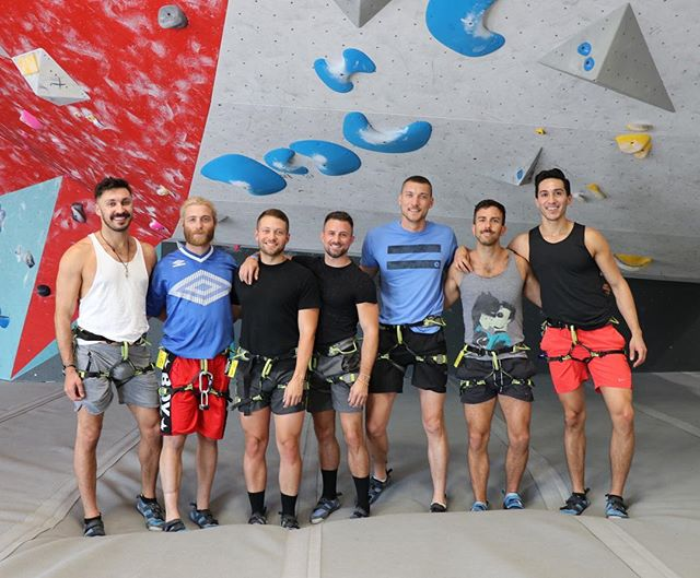 So happy I finally got to try rock climbing.  Thanks for coming out boys 😘 #itstheclimb #aintnomountainhighenough #thirtyflirtyandthriving