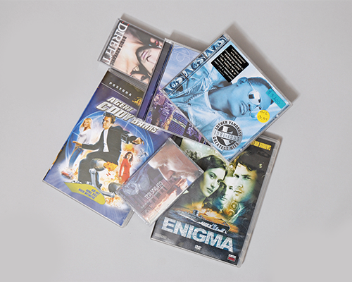 Avdio kasete, CD-ji, DVD-ji