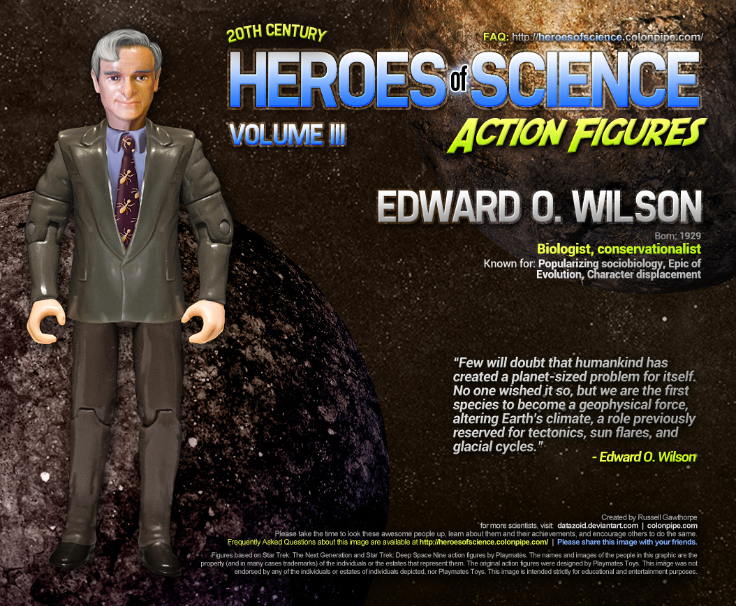 Edward O. Wilson: Click to make bigger-ish.