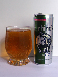 Rhino's Energy Drink in all its glory.