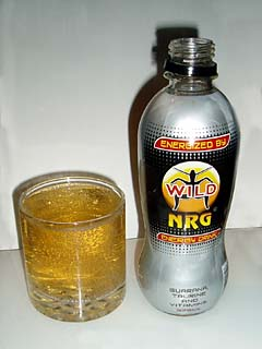 "It's wild, and contains ""NRG"","