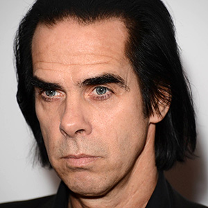 Nick Cave. Resemblance: 10%.