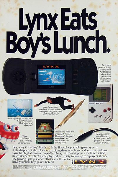 Atari Lynx.