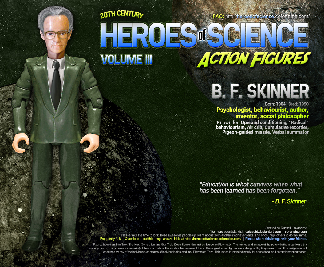 B. F. Skinner. Click to increase largeness.