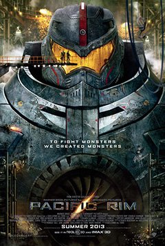 It's like Real Steel meets Transformers meets The Abyss meets Cloverfield meets other stuff.