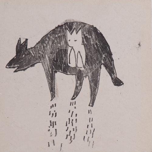Im Bauch, Monotypie, 25x25cm, 2009