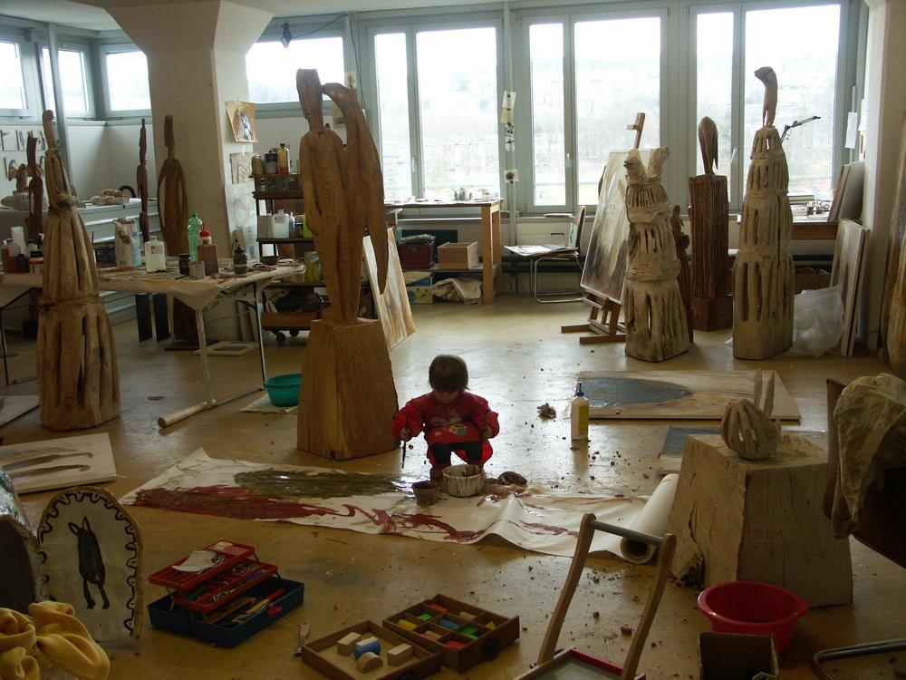 Atelier Hermetschloostrasse Zürich, 2010