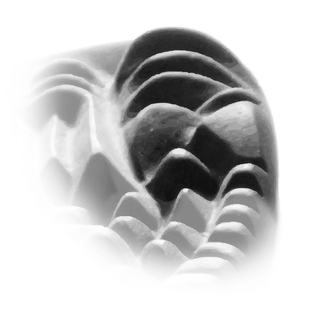 Se ha prestado una especial atención a las zonas relacionadas con la cabeza (dedo 1). El relieve más prominente ha sido elegido para estimular el trapecio. La contractura frecuente de este músculo comprime muchas veces la arteria vertebral dificultando una buena circulación en la cabeza. Liberar esta zona ayuda a que todos los meridianos que alcanzan la cabeza se liberen también. Se prestó especial atención a la base del cráneo y al atlas donde suele haber mucha tensión acumulada. Es una zona de liberación energética fundamental.