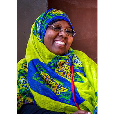Fatma Juma Haji  Centre Manager & Master Trainer