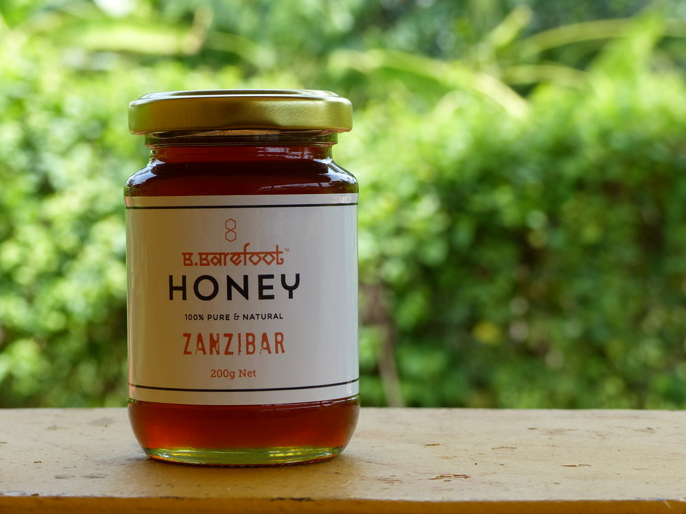 B.BAREFOOT HONEY MEDIUM (200g)