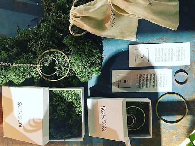 Last orders today before Christmas! 🌲🌲#kósmos #localbrand #copper #brass #minimalist #nordic #moss #skåne #upcycledfashion #absmalandjul2016