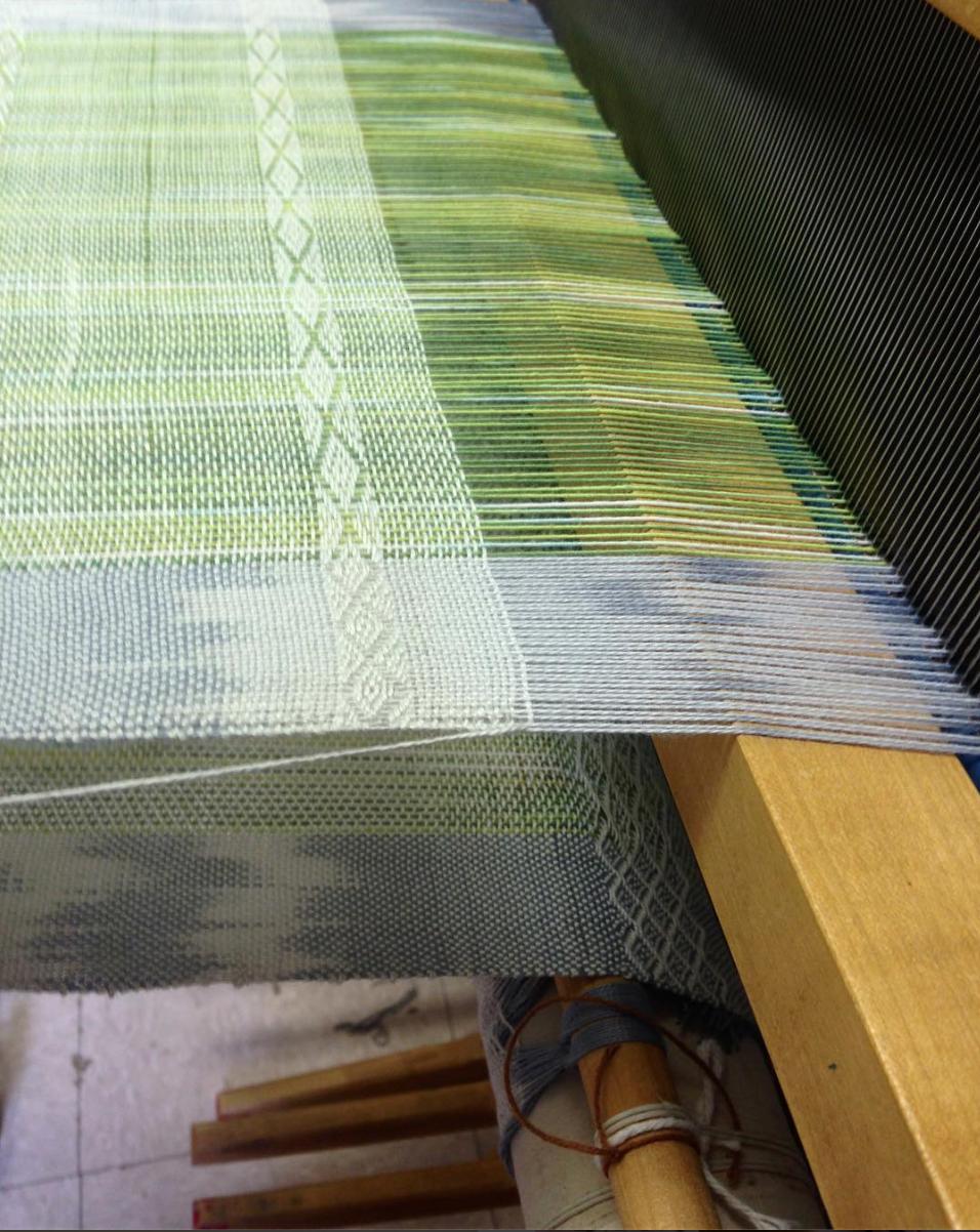 Weaving by TOSS teacher, Kirksey Lowther