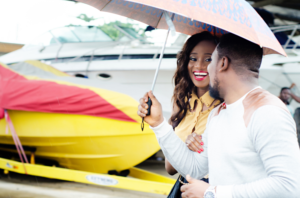 Fun Pre-Wedding Shoot In Lagos - Top Nigerian Wedding Photographer