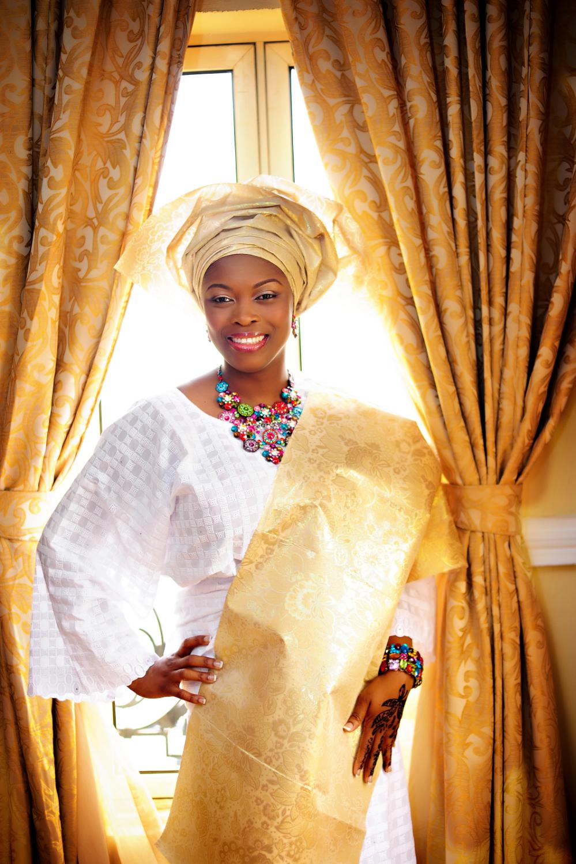 Nigerian Bride At De Renaissance Hotel ,Lagos