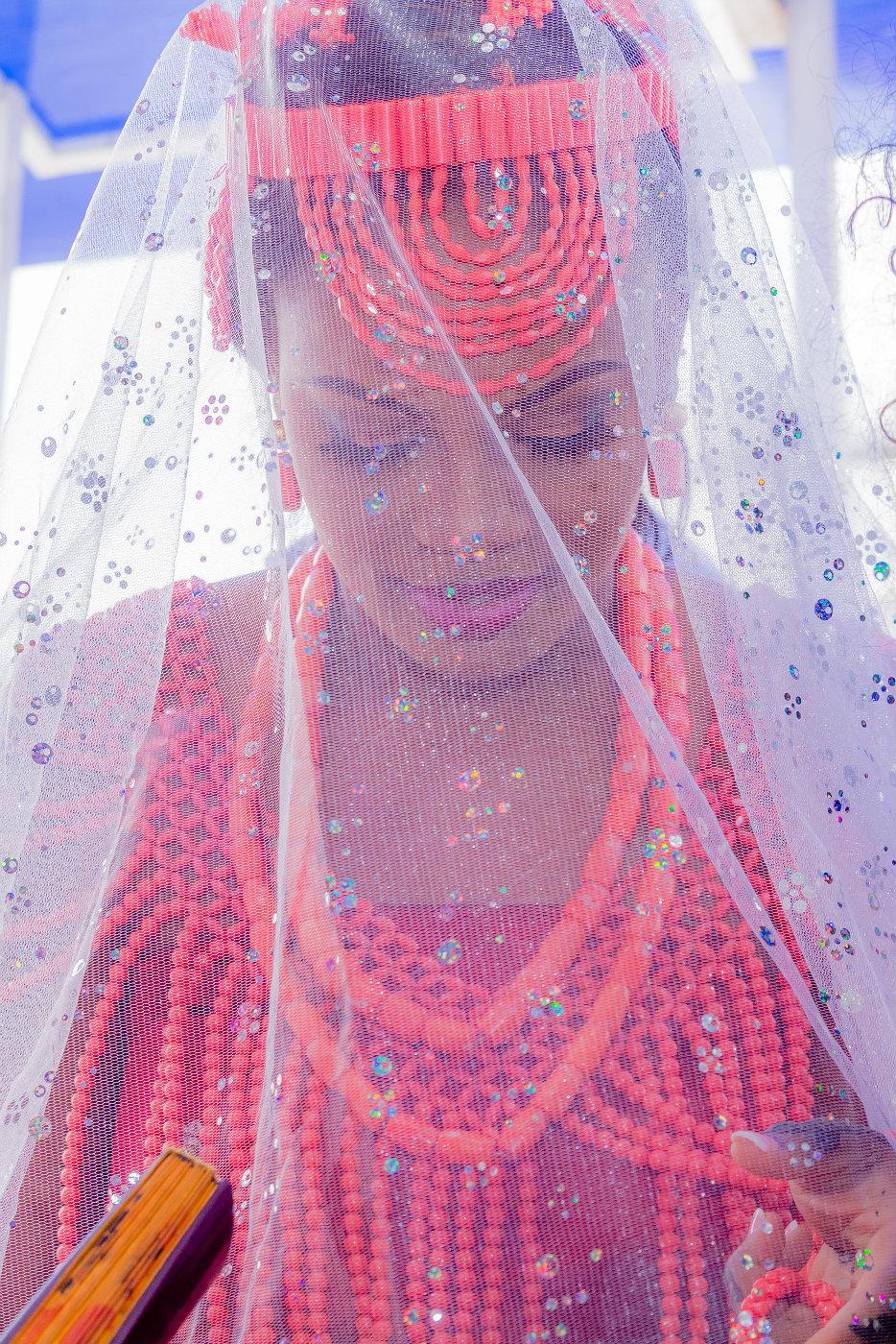 Beautiful Edo Bride - Photo By SpicyInc Studio - Lagos Wedding Photographers