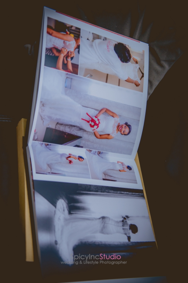 Beautifully Design PhotoBook Album By Lagos Top Wedding Photographer - SpicyInc Studio