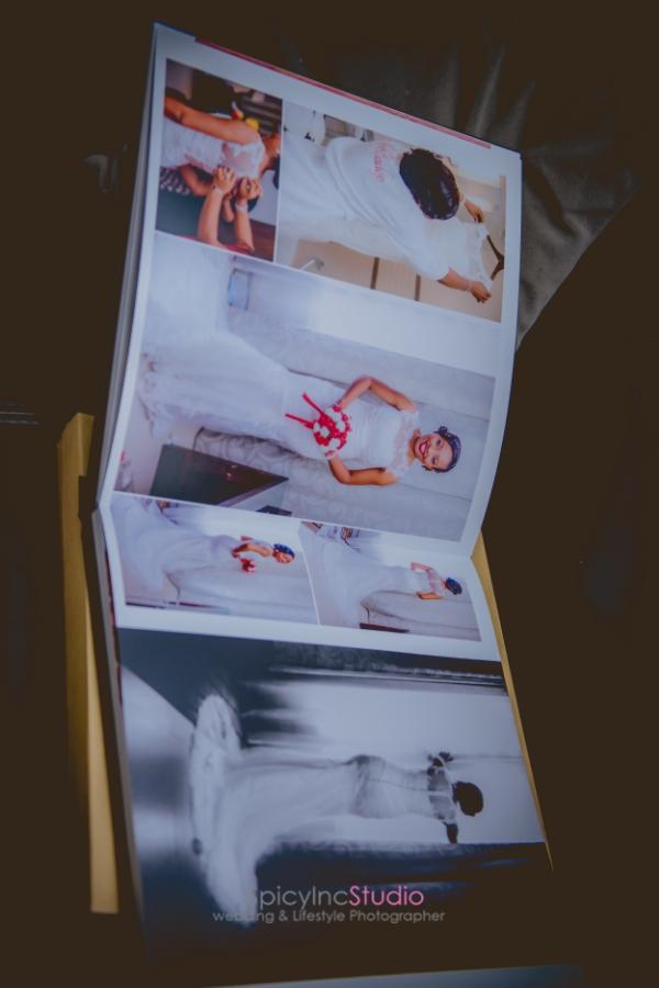 Beautifully Design PhotoBook Album By Lagos Top Wedding Photographer - SpicyInc Studio
