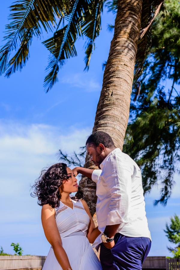Pre-Wedding Shoot At The Ilashe Beach By Top Lagos Wedding Photographer - SpicyInc Studio