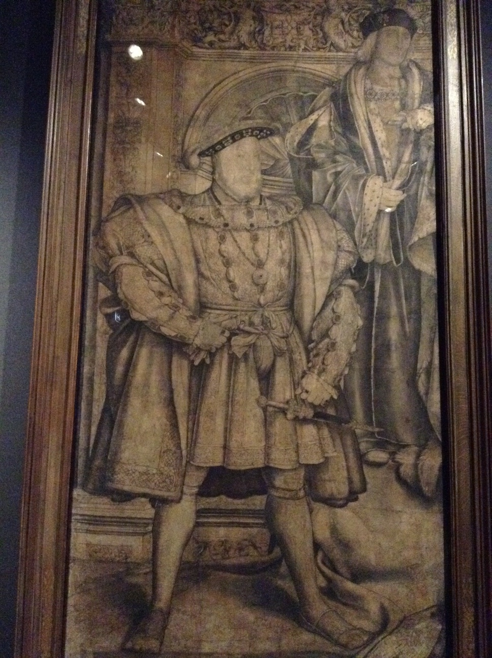 Henry VIII - I kind of really like this guy, which is sick but true. He's my favorite wife killing, religion changing, red headed monarch.