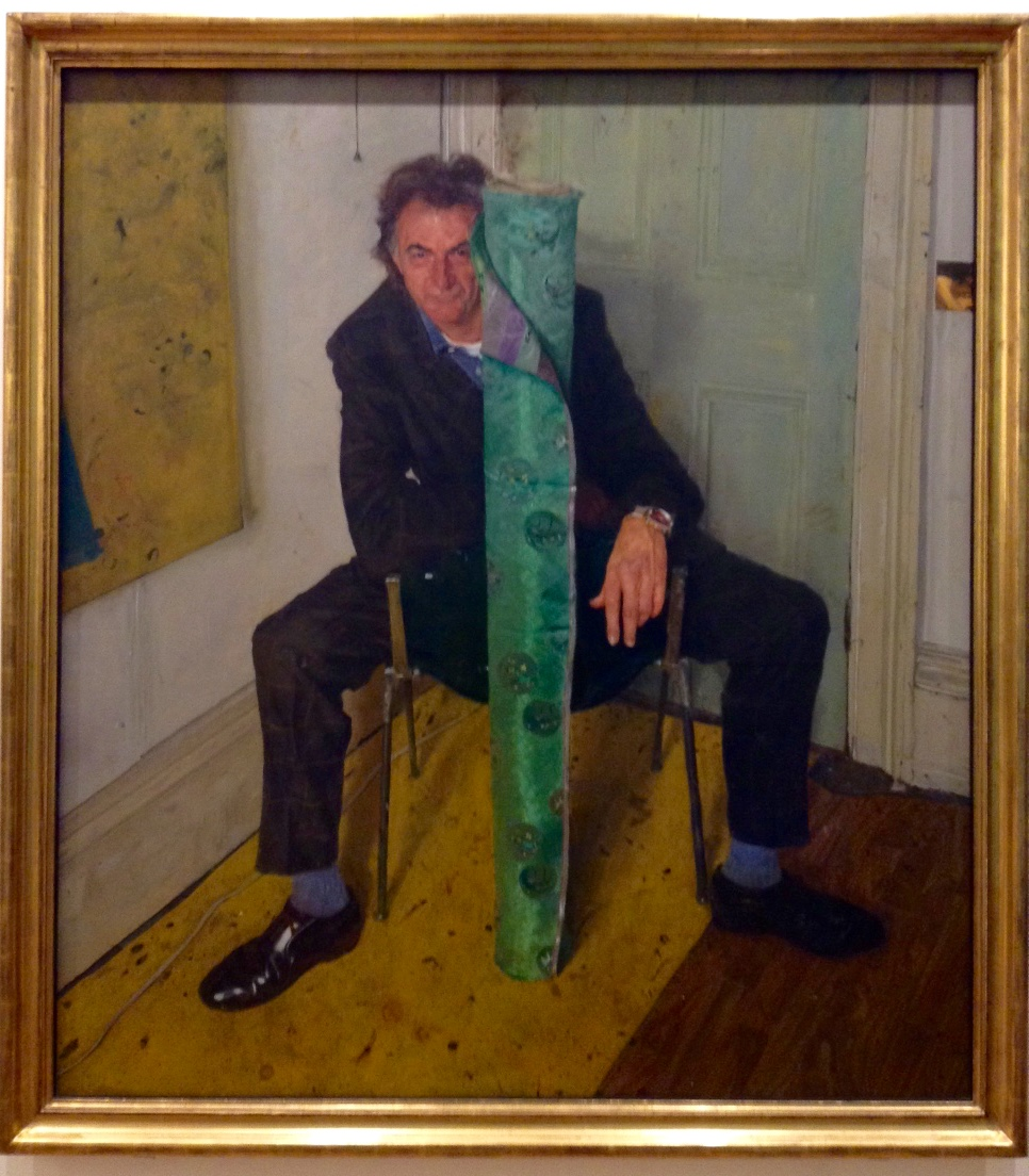 Portrait of Sir Paul Smith, the fashion designer, from the National Portrait Gallery