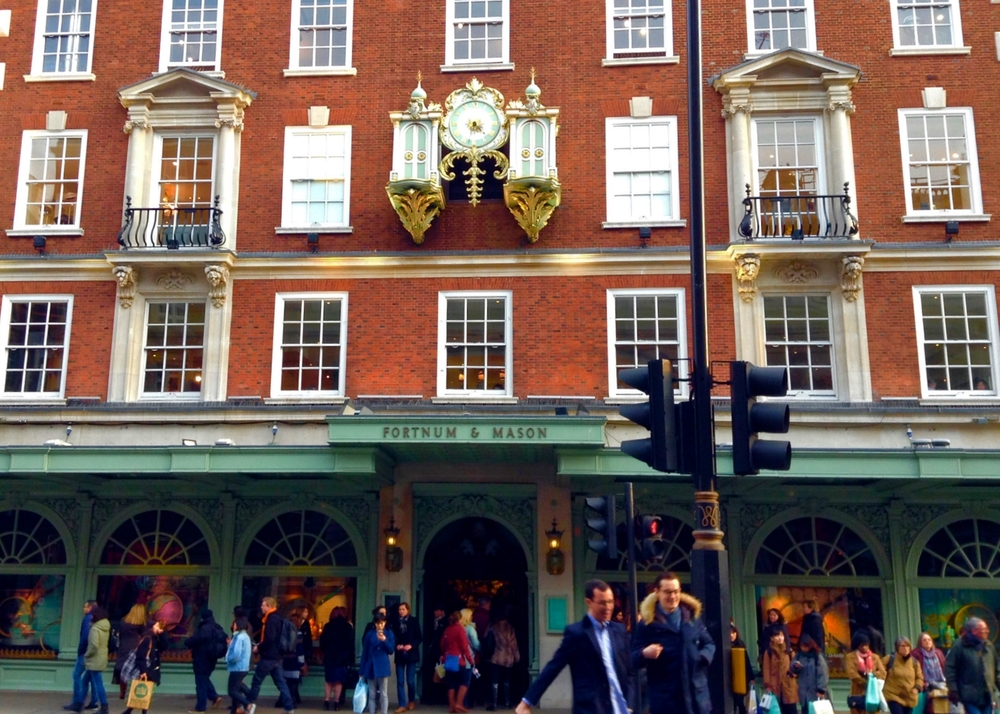 The Iconic Fortnum and Mason Facade
