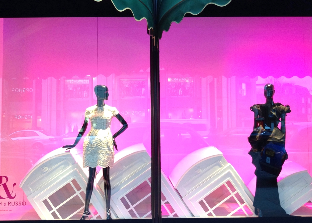 Window Display at Harrods