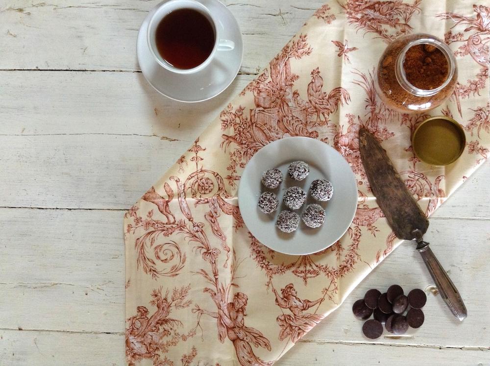 Cacao Coconut Truffles