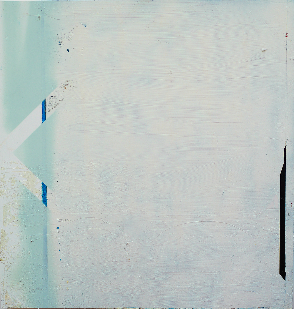 Rue Lepic, 40x40 cm, tecnica mista su pvc, 2010
