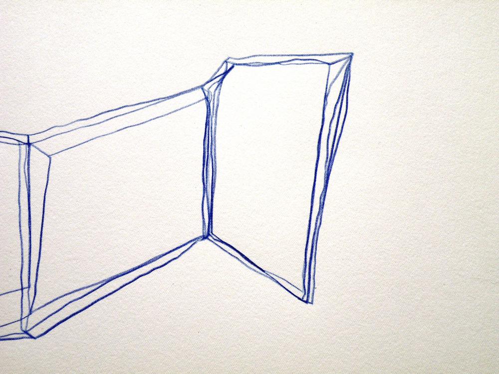 """Stefano Loria """"Marra"""", matita su carta da incisione, 2015"""