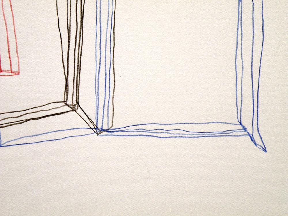 """Stefano Loria, """"Ronnie"""", matita su carta di incisione, 2015"""
