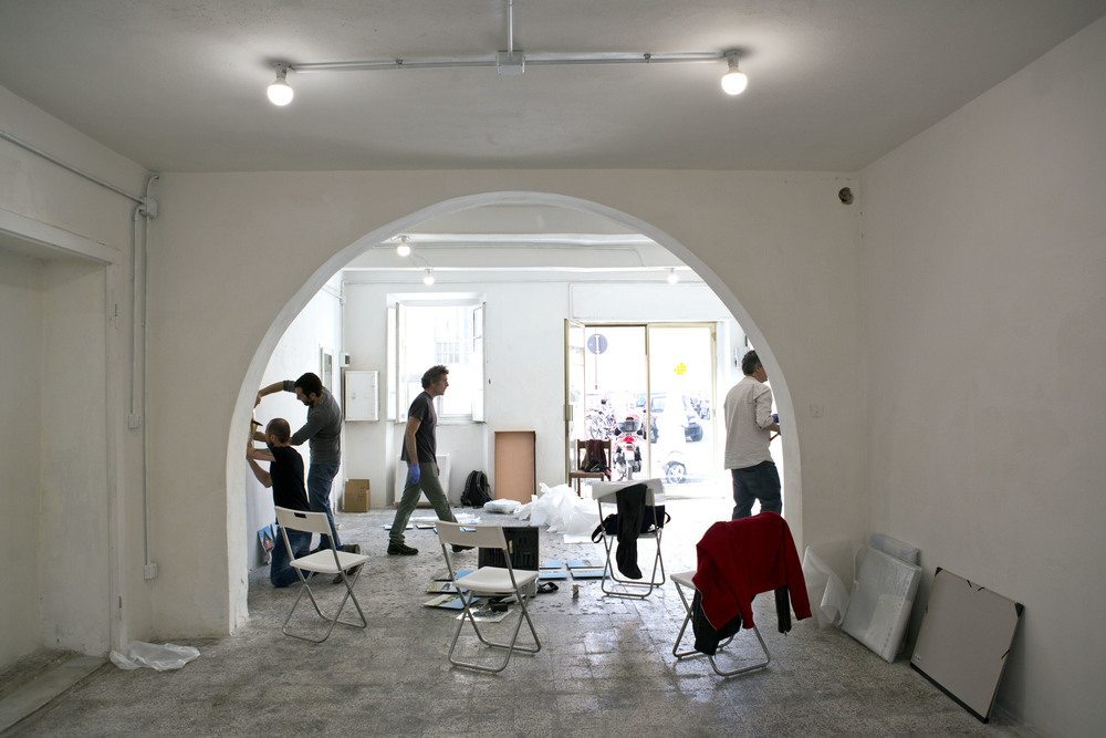 L'allestimento da EGG Visual Art, Livorno