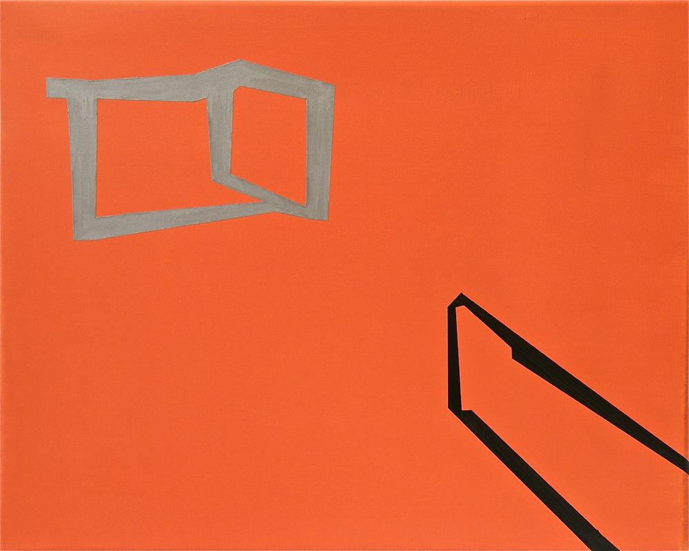 Stefano Loria, Illusione, cm 40 x 50, olio su tela, 2008