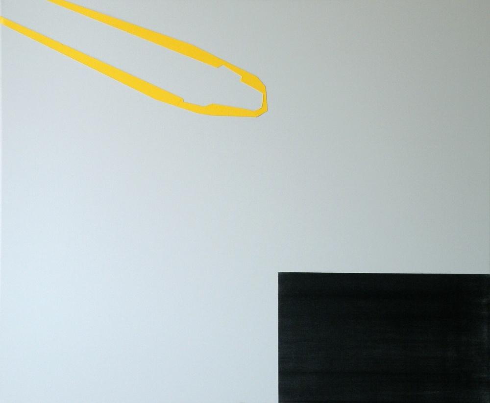Altro luogo, 2013, olio su tela, cm 50 x 60