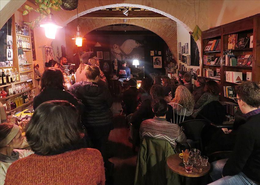Black Spring Bookshop (fotografia di Bärbel Reinhard)