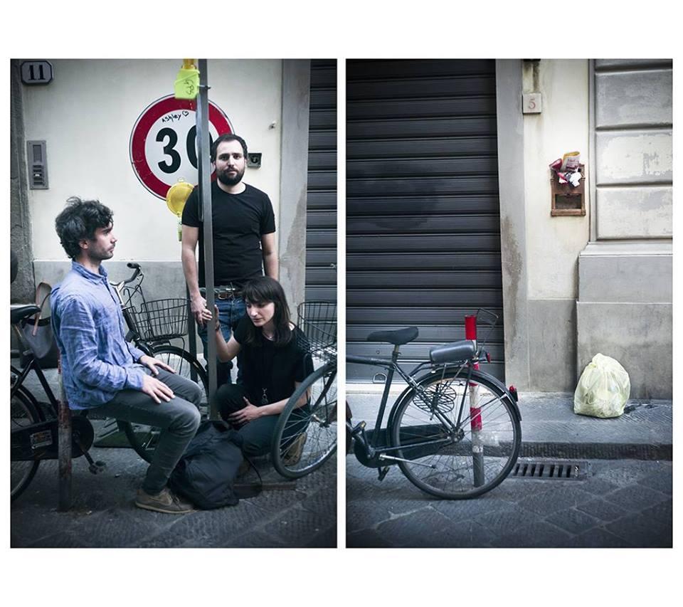 da sinistra: Simone Lisi, Ferruccio Mazzanti, Lavinia Ferrone