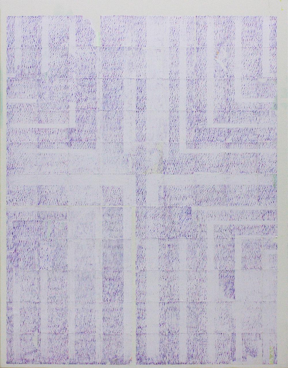 Backlight, 2016, tecnica mista su tela, 90x60 cm