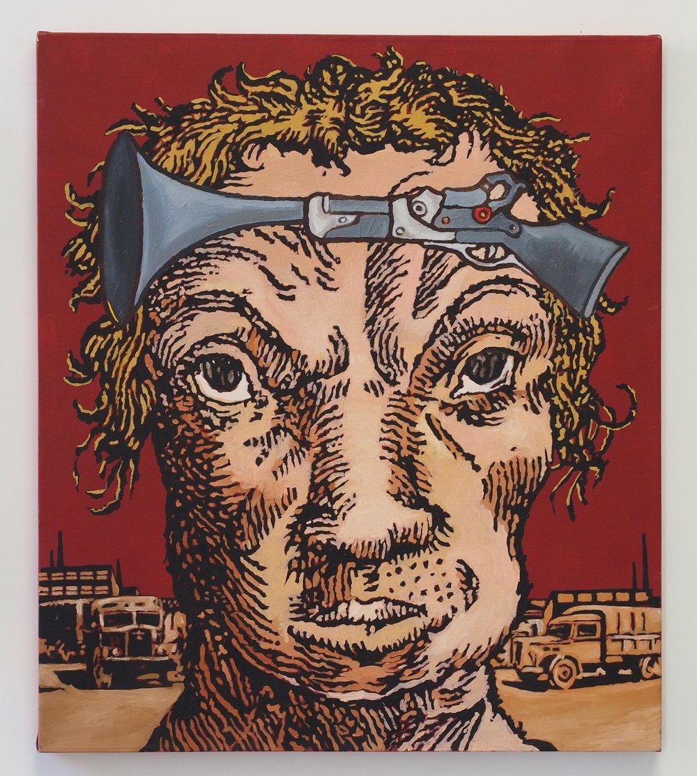 Opera di Guido Andrea Di Marco (collezione di Sergio Tossi)