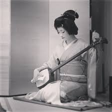 Non disturbare squisita geisha dormiente!