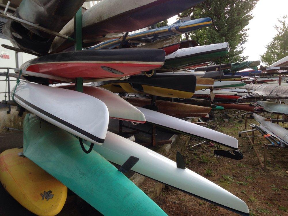 I canoa a bilanciere sono una popolare forma di trasporto fra isole!