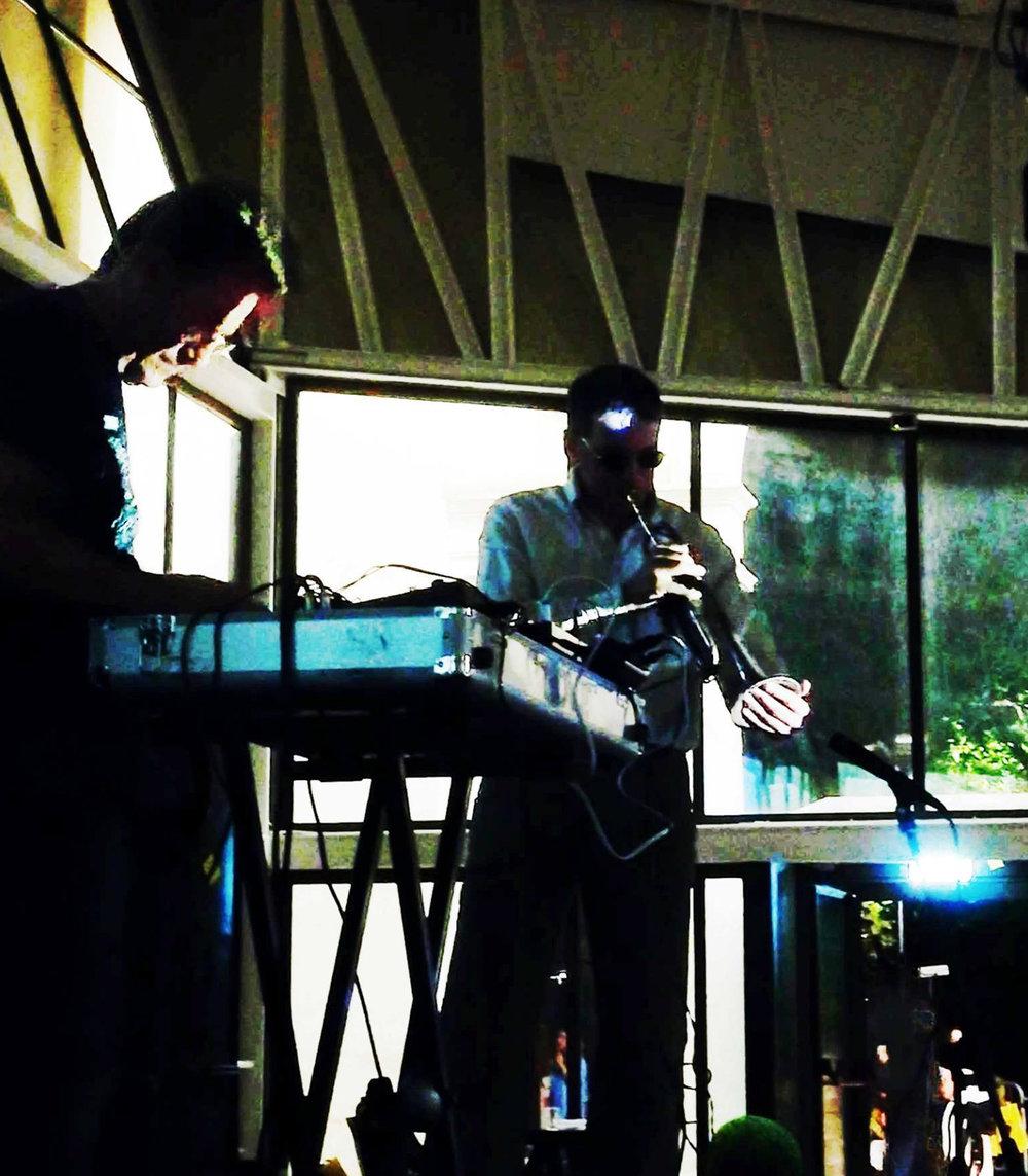 Now (Roberto Cagnoli, live electronics & Marco Cencetti, tromba)