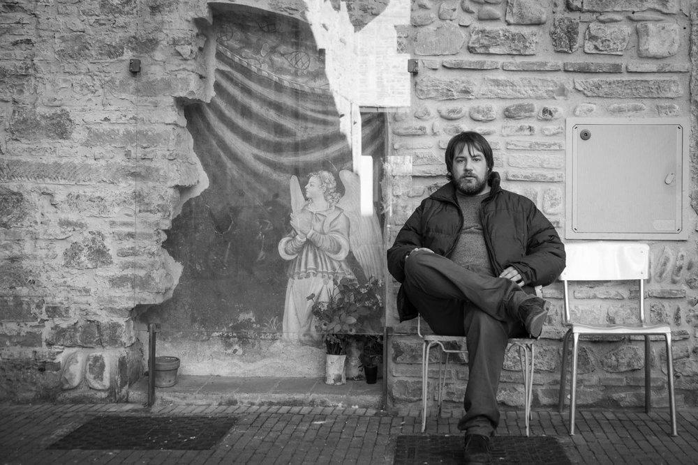 Andrea Zandomeneghi fotografato da Carlo Zei