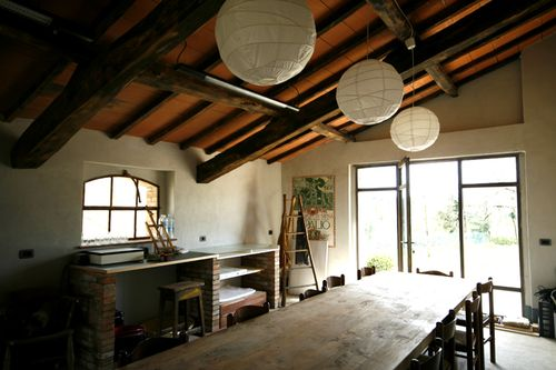The art studio Siliano Alto EAT.PRAY.MOVE Yoga Retreats | Tuscany, Italy