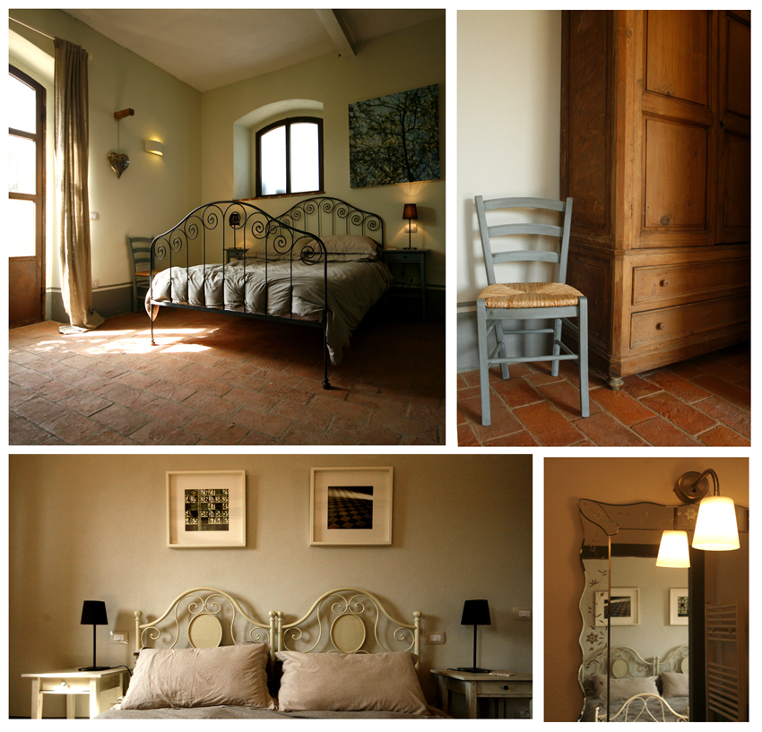 Bedroom comforts Siliano Alto EAT.PRAY.MOVE Yoga Retreats | Tuscany, Italy
