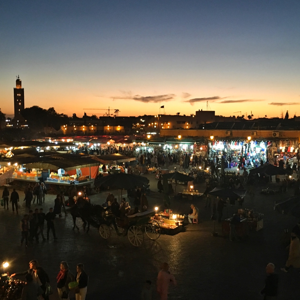 Evening Market EAT.PRAY.MOVE Yoga Marrakesh, Morocco