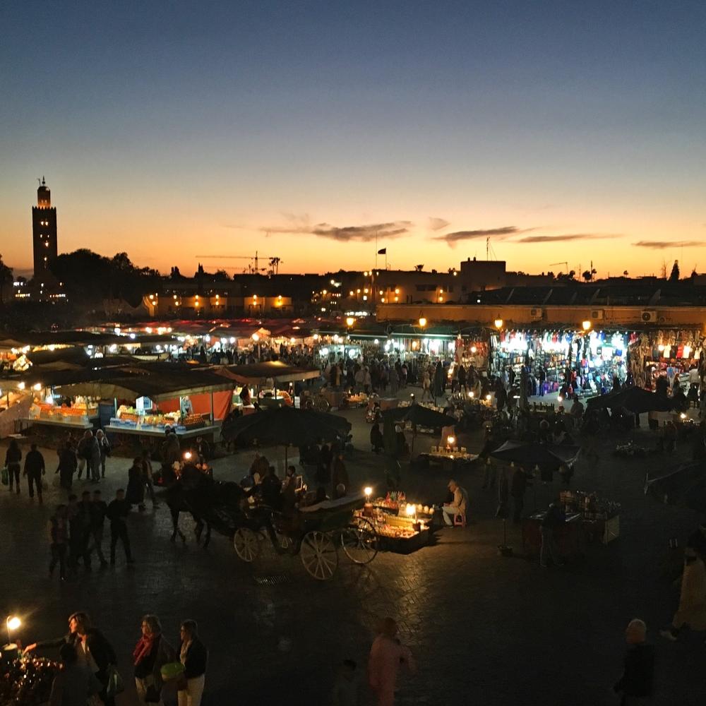 Evening Market EAT.PRAY.MOVE Yoga Marrakesh, Morocco