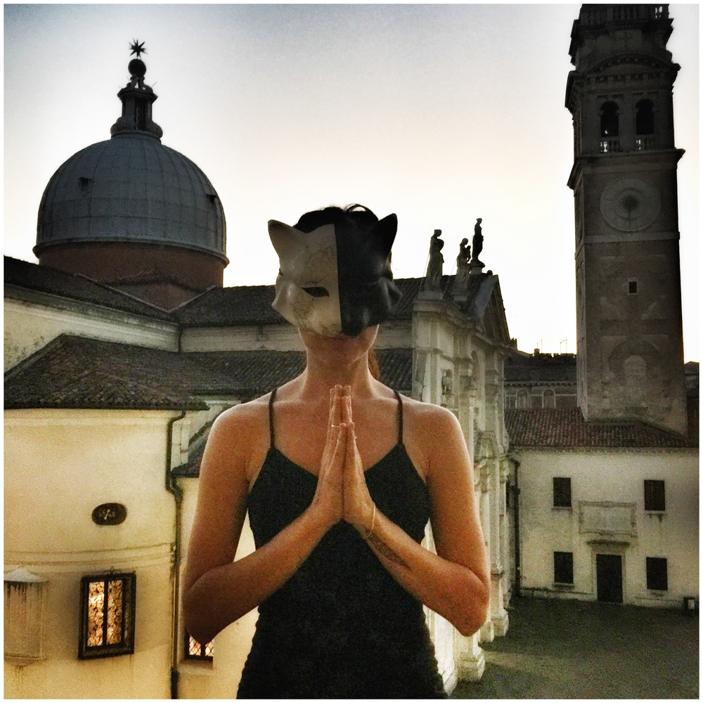 Masks in the city | EAT.PRAY.MOVE Yoga | Venice, Italy