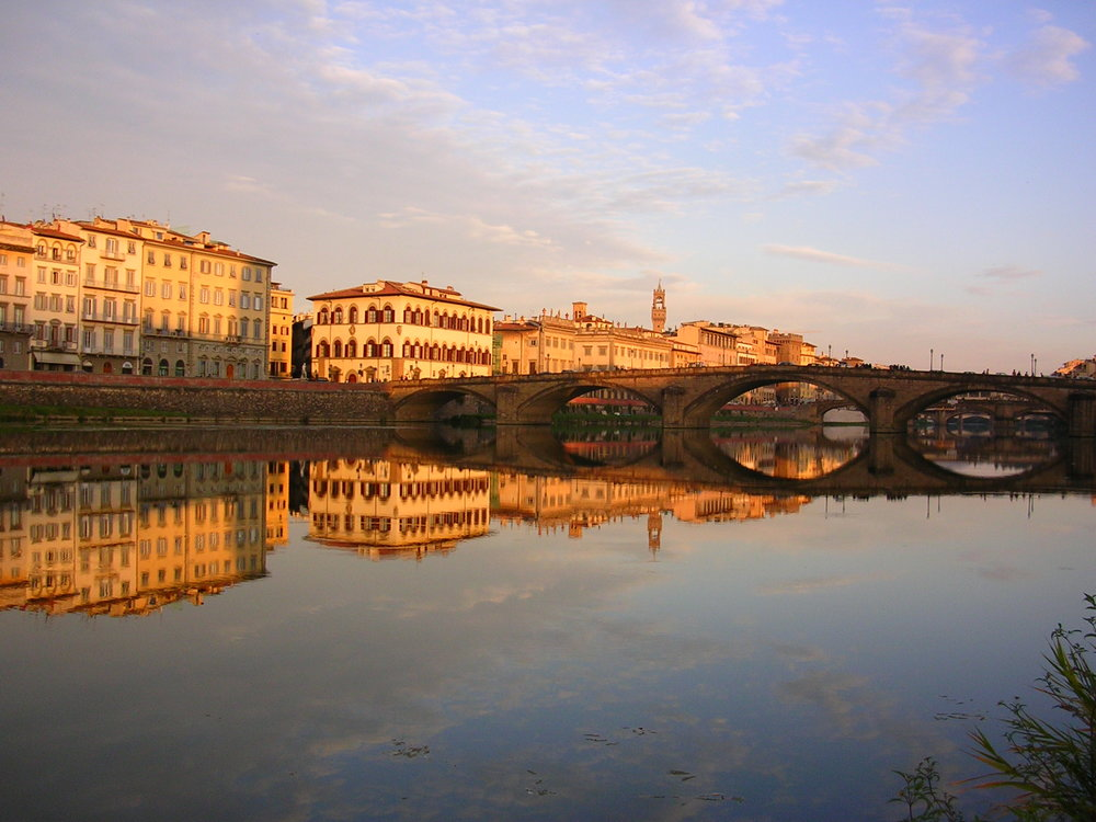 Reflections of Florence  | EAT.PRAY.MOVE Yoga | Chianti, Italy