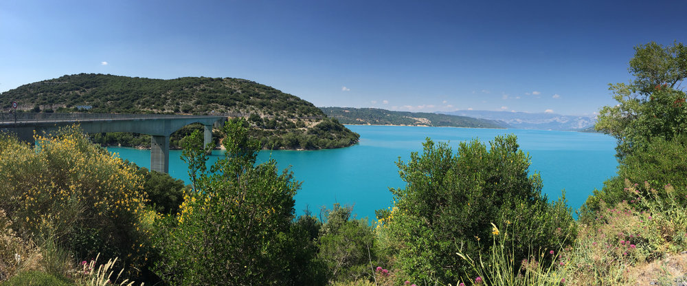 Glacial waters Gorges du Verdon EAT.PRAY.MOVE Yoga Retreats | Provence, France