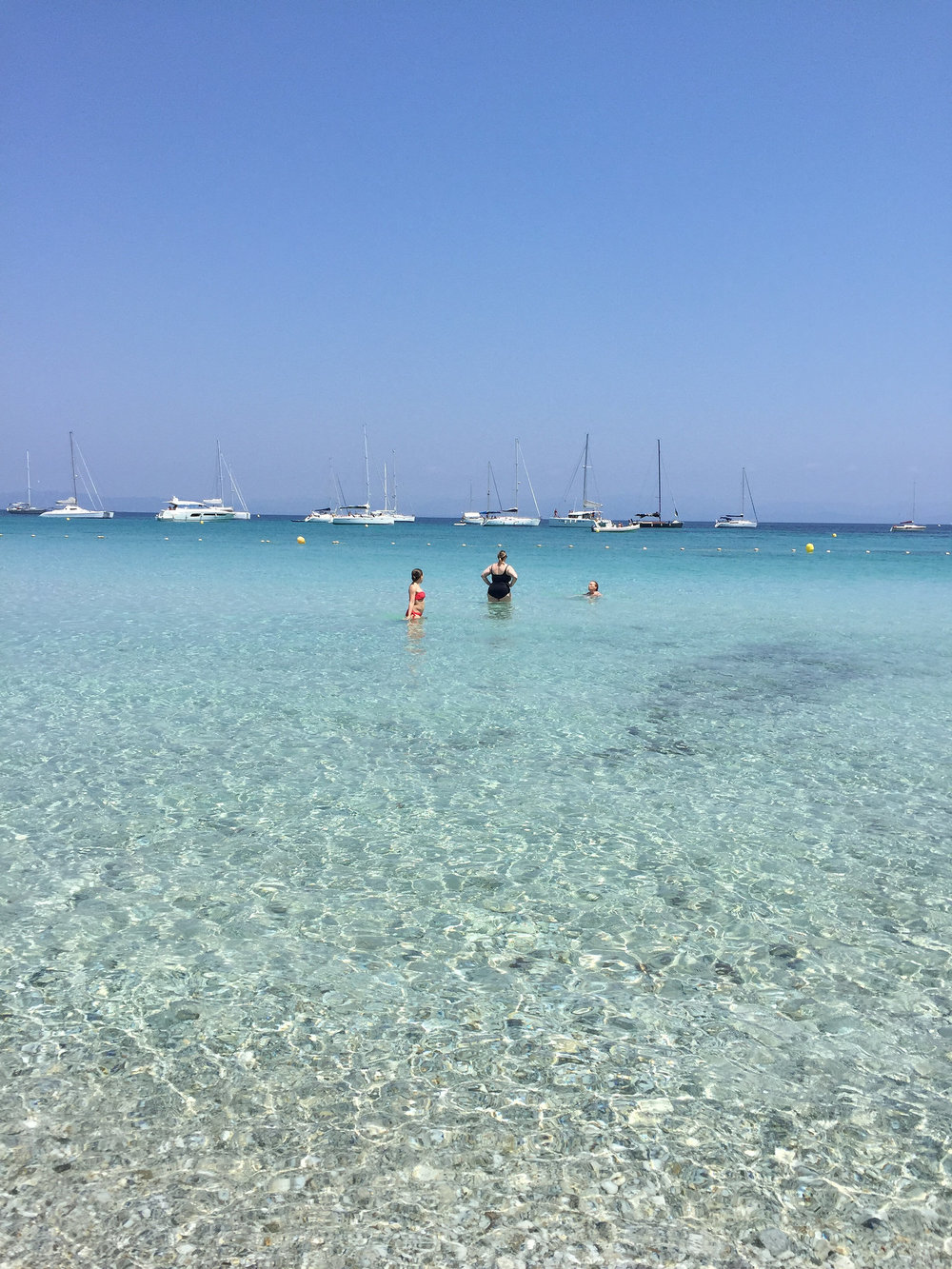 Clear beach waters EAT.PRAY.MOVE Yoga Retreats | Provence, France